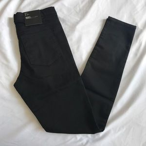 NWT H&M black treggings size 8